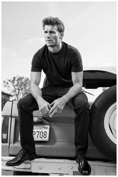 After embracing the spirit of an early summer with GQ Style Russia, photographer Greg Lotus connects with Flaunt for its latest issue. Lotus photographs actor Scott Eastwood ahead of the release of his movie, The Longest Ride. Following up a Treats photo shoot, Eastwood is styled by Jimi Urquiaga, sporting casual pieces from Maison Martin... [Read More]