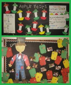 Apple Facts/Graph & Johnny Appleseed | I'll need to add a few of these activities to my unit next year!