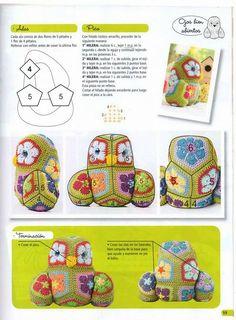 Meu Mundo Craft: Coruja em crochê