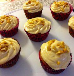 Salted Caramel Cupcakes - Yum!!