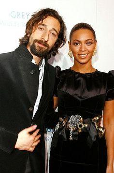 Adrien Brody & Beyonce
