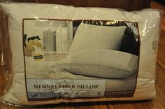 Dacron Home Classics Memory Fiber Pillow {Review} (& Giveaway Ends 4/1) @Cherise Kachelmuss
