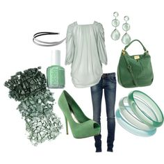 obsessed with green. Always been a fan of greens! and neutrals, but that's another board somewhere. ;)