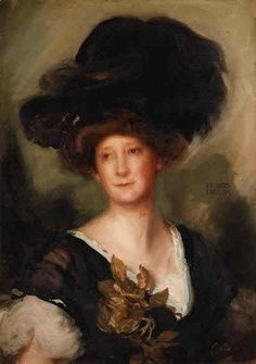 Famous paintings of Portraits: Portrait of Frances Evelyn