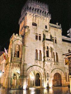 Concello de Porriño (Pontevedra), obra de Antonio Palacios