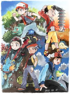 Trainers throughout the ages