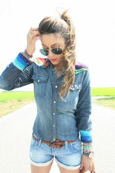 Cosa non deve assolutamente mancare nell'armadio di una donna: Denim Shirt - SCENT OF OBSESSION - fashion blogger, outfit, travel and beauty tips