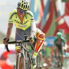 Alberto Contador Stage 8 La Vuelta 2016 by photogomezsport