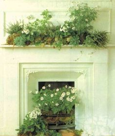 unused fireplace decorating ideas | Unused Fireplace | Manolo for the Home
