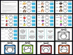Emotions Activity, Identify What They Look Like, Feel Like and Sound Like  A Great Activity For Emotional Regulation, this activity is KID TESTED/TEACHER APPROVED! A great for children who need to practice identifying emotions in themselves and or others as well as how to recognize how those emotions make them and or others, look, feel. It is also great for helping children learn what situations makes them feel these emotions.