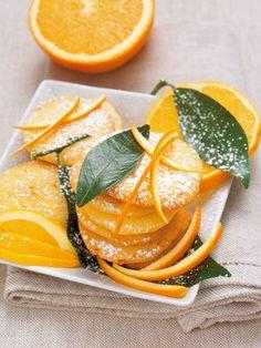 Biscottini facili all'arancia. Ideali per colazione e merenda.