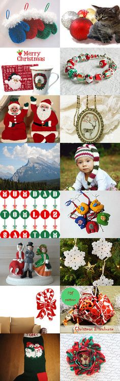 A Traditional Christmas by Rhian on Etsy--Pinned with TreasuryPin.com