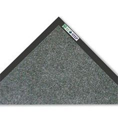 Crown Ecostep Mat, 36 X 60, Charcoal by LUDLOW COMPOSITES CORP.. $37.78. Brand: CrownMfr#: CRO ET 0035CHCharcoalContributes to LEED CertificationSurface contains 100% recycled contentVinyl backing with natural organic resin blendPlush mats prevent slip/fall hazards and protect floorsQuality plush surface wipes and dries shoes and grasps fine dustHelp preserve the environment with this P.E.T. fiber surface wiper mat Product contains 98% post-consumer and 98% total recovere...