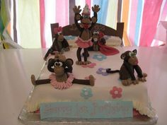 five little monkeys jumping on the bed by bluecakecompany, via Flickr