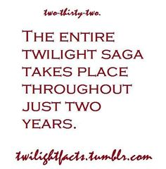 TRUE BECAUSE BELLA had her 18th b day then her 19th in breaking dawn part 2.