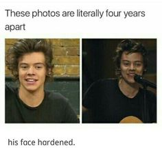 He has literally gone back to 2013, just with a more defined jawline.