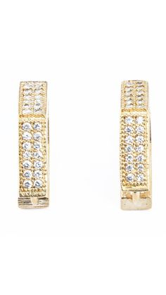 Buy Waama Jewels Evergreen Cubic Zirconia Alloy Huggie Earring, bollywood, metal earring, Top fashion jewellery, Earring Wear in patry, beautifull, party wear earring wje46 Online at Low Prices in India - Paytm.com