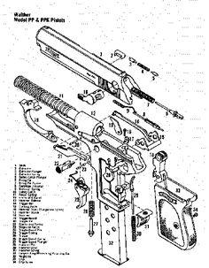 walther ppk - aka Bond Gun