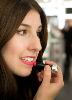 Kiss Pop Lip Color de Marc Jacob Beauty dans la teinte Wham / Soirée VIB Rouge Chez Sephora Québec / Sophie adore