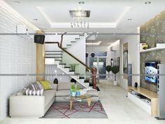 Mẫu thiết kế nhà 3 tầng hiện đại đẹp mê hồn diện tích 5x16 - Kiến An Vinh