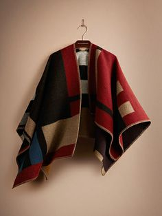 Burberry Prorsum Makes The World s Most Expensive Poncho  Refinery29  Burberry Poncho cb220b644