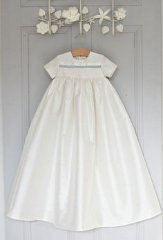 97484c9a6 Christening Gown 'Jack' / Silk Baptism Gown / Adore Baby / Boys Christening  outfit / Blessing gown / Boys Baptism Outfit / 100% Silk