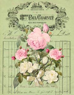 Vintage Altered  Image No 333  8 x 10   by CountryAtHeart2008, $4.50