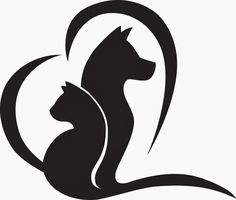 National Veterinary Technician Week – Constantly Moving the Bookmark Best Picture For Exotic pets australia For Your Taste You are … Veterinary Symbol, Familie Symbol, Cat And Dog Drawing, Gatos Cool, Animal Silhouette, Animal Heads, Animal Logo, Cat Tattoo, Pyrography