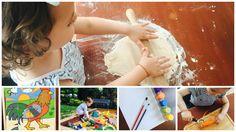 Activități indoor sau outdoor, pentru copii de 2 ani, ușor de realizat, cu un buget modest: Jocul cu plastilina de casă, Puzzle, Groapa de nisip, Pictatul, De-a bucătăritul. http://mamacudichis.ro/activitati-cu-copilul-tau-la-2-ani/