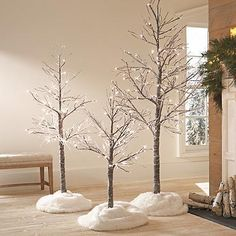 """Christmas tree LED Twig Tree with Snow """"Be aware To Self"""" -- Creating A Wedding ceremony Time Capsul White Twig Christmas Tree, White Twig Tree, Simple Christmas, Christmas Trees, Christmas 2017, Christmas Holidays, Christmas Crafts, Happy Holidays, Winter Wonderland Decorations"""