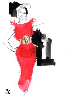 Dolce  Gabbana SS 2014 illustration *  Marc-Antoine Coulon