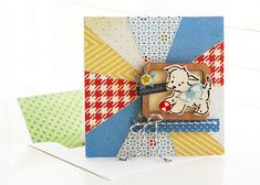 Roree Rumph for Crate Paper - Little Boy Blue collection Crafts To Do, Paper Crafts, Little Boy Blue, Scrapbook Cards, Scrapbooking, Crate Paper, Beautiful Handmade Cards, Some Cards, Mini Books
