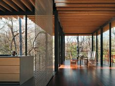 Erweiterung eines Wohnhauses in New Canaan/Connecticut, Kengo Kuma & Associates