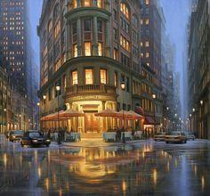 Summer Rain, Delmonico's by Alexei Butirskiy