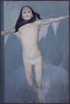 tinei:    2015. You make me feel batty. 120 x 80 cm. Oil on canvas