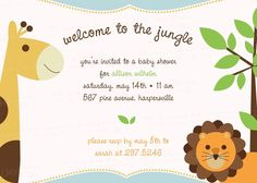 These Invitations would be perfect for lexis shower!!