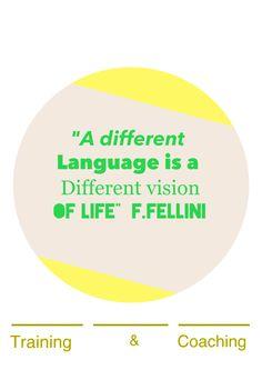 """""""Un idioma diferente es una visión distinta de la vida"""" F.Fellini cursos@enidiomas.com ow.ly/i/2E7tL"""