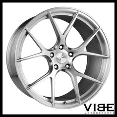 "20"" VS FORGED VS02 BRUSHED CONCAVE WHEELS RIMS FITS INFINITI Q60 COUPE #VSForged #vs02 #forged #wheels #concave #infiniti #q60 #vibemotorsports"