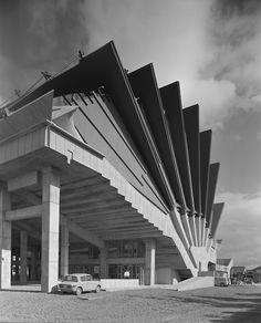 Miyakonojo Civic Center - Miyazaki - Japan - 1966 — Kiyonori Kikutake