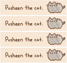 picture relating to Pusheen Printable called 275 Suitable Pusheen The Cat Printables photographs in just 2017 Pusheen