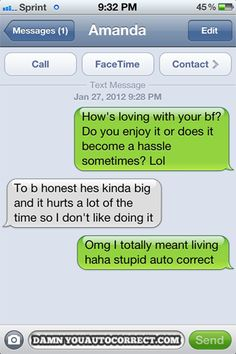 BFFS: 15 Hysterical Autocorrects Between Girlfriends