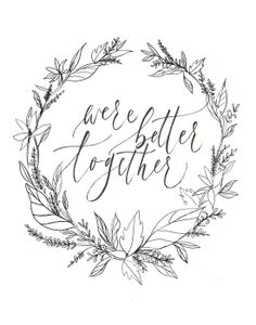 """were better together"" by Juliet Grace"