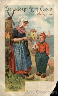 Gerelateerde afbeelding Vintage Labels, Vintage Cards, Vintage Postcards, Vintage Images, Dutch Netherlands, Wow Art, Advertising Poster, Delft, Vintage Advertisements