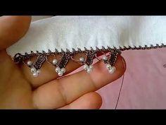 İncili tığ oyası yapılışı - YouTube Crochet, Diy And Crafts, Diamond, Bracelets, Earrings, Jewelry, Lace, Crocheting, Rage