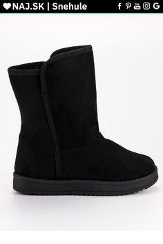 Klasické čierne snehule RS Bearpaw Boots, Ugg Boots, Moon Boots, Crocs, Uggs, Adidas, Nike, Fashion, Moda