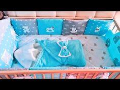 бортики в детскую кроватку своими руками - YouTube