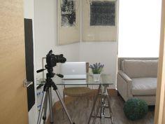 Ideas de #Oficina, estilo #Contemporaneo color  #Marron,  #Blanco,  #Gris, diseñado por Rocio Monsalvete  #CajonDeIdeas