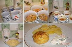 Tojásszendvics, a tökéletes szendvicskenyér helyettesítő | TopReceptek.hu Cheese, Breakfast, Gold, Author, Savory Muffins, Hams, Finger Food, Top Recipes, Oven