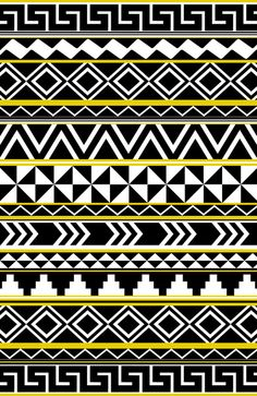 Tribal Pattern Art Print by Taylor Payne | Society6