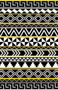 Tribal Pattern Art Print by Taylor Payne | Society6